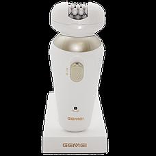 Эпилятор Gemei GM-7005    Бритва женская с насадками 5 в 1, фото 2