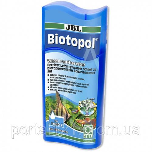 Кондиционер JBL Biotopol для пресноводных аквариумов, 250 мл