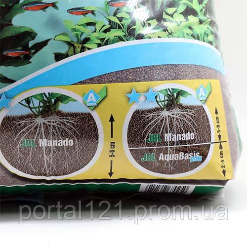 Натуральний субстрат JBL Manado для прісноводних акваріумів, 25 л