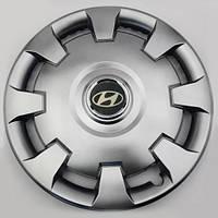Ковпак колісний Hyundai R15 срібло - (SJS 303) - шт.