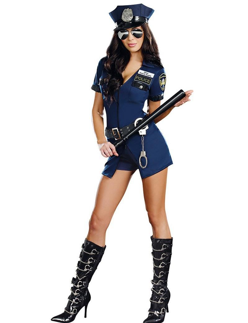Сексуальный игровой костюм полицейской (104)