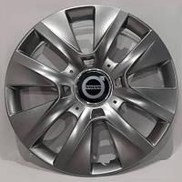 Колпаки R15 Volvo серебро - (SJS 334) - комплект (4 шт.), фото 1