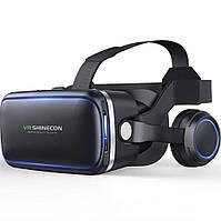 Гарнитура виртуальной реальности Shinecon SC-G04E с наушниками (Черный), фото 1