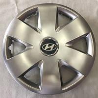 Ковпак колісний Hyundai R15 срібло - (SJS 308) - шт.