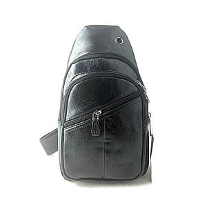 Мужская сумка через плечо Gorangd 29 x 17 x 9см Черный (gor222), фото 2
