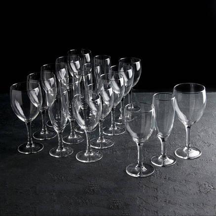 """Стеклянный бокал для воды и вина Arcoroc """"Элеганс"""" 245 мл  (L7872), фото 2"""