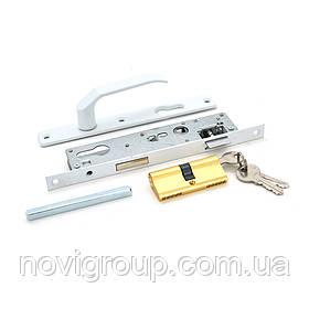 Замок до дверей з набором ручок до дверей і ключами 8525 (230*(174)*41.5*16)