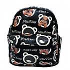 Рюкзак с рисунком Мишка 47250 Размер 30x25x12 Чёрный, фото 2