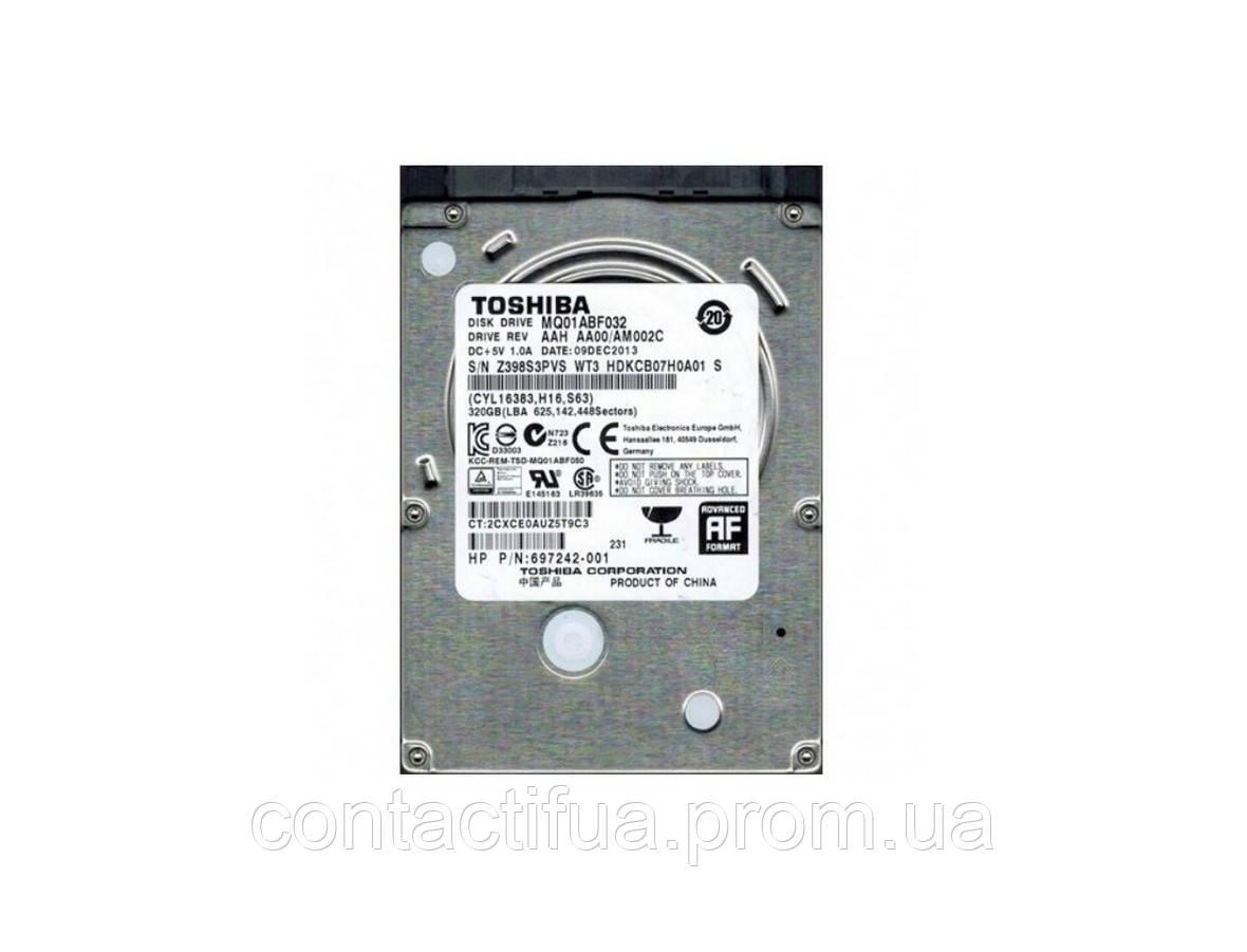 "HDD Toshiba 320GB 5400rpm 8MB 2.5"" SATA III б/в"