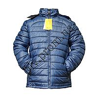 """Мужская теплая куртка интернет-магазин молодежных мужских курток  тм. """"Boulevard""""  ETM-69 Blue"""