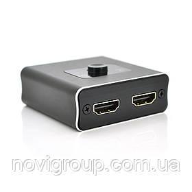 Двосторонній HDMI перемикач VEGGIEG H202