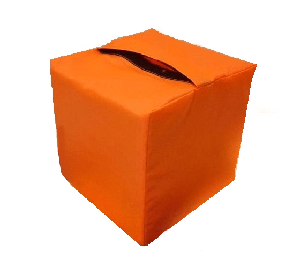 Кубики в чехле Kidigo для поролоновой ямы