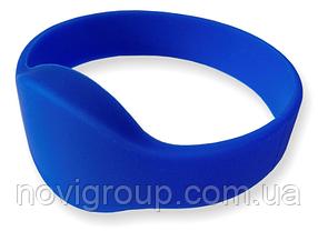 ¶Браслет з кодом EM4100 Ø65 мм силіконовий синій