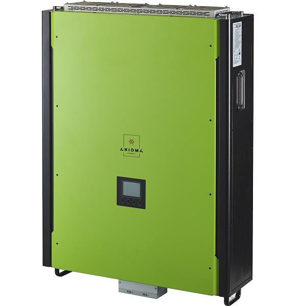 Гібридний інвертор з резервної функцією 15кВт, 380В, ISGRID 15000, AXIOMA energy