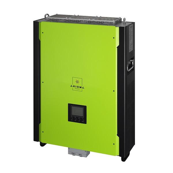Гибридный инвертор с резервной функцией 10кВт, 380В, ISGRID 10000, AXIOMA energy