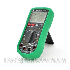 Мультиметр BAKKU BA-890A Вимірювання: V, A, R, C (200*130*56) 0.52 кг (180*90*45)