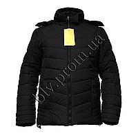 """Теплые зимние мужские куртки на синтепоне тм. """"Boulevard""""  EL-67 Black"""