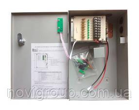 ¶Блок безперебійного живлення BBG-1210/8 для відеоспостереження 12В, 10А, під 18Ач акумулятор