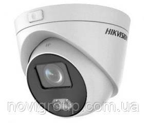 ¶4 Мп ColorVu IP відеокамера купольна Micro SD картою DS-2CD2347G3E-L (4 ММ)