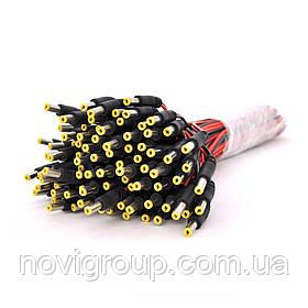 Роз'єм живлення DC-M (D 5,5x2,5мм) => кабель довжиною 30см, OEM Q100