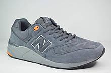 Мужские кроссовки великаны серые в стиле New 999 (5133 - 2)