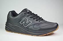 Мужские кроссовки великаны черные в стиле New 999 (5133 - 3)