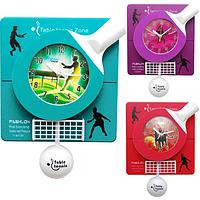 Часы настенные Детские с маятником Бадминтон кварц.пластик 30,5*5,6*41,5 см
