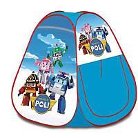 Детская Игровая Палатка Робокар Поли, Robocar POLI в сумке, 100*90*90 см