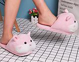 Тапочки-игрушки Хомячки женские розовые,35-38, фото 2
