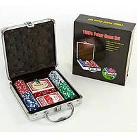 Покерный набор 100 фишек IG-2470 OF