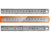 Лінійка металева 15 см