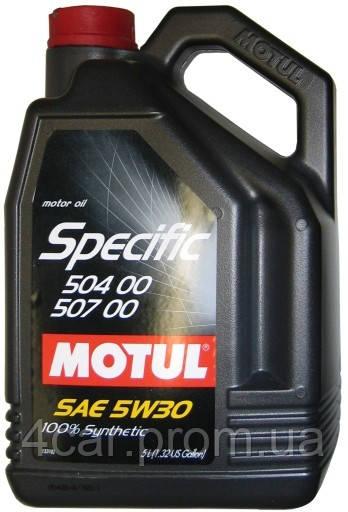 MOTUL SPECIFIC 504.00-507.00 SAE 5W30 (5L) - OILHOST в Житомире