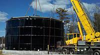 Квалифицированный монтаж стальных резервуаров