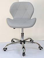 Кресло Onder Mebli Инвар Office ЭкоКожа Серый 35