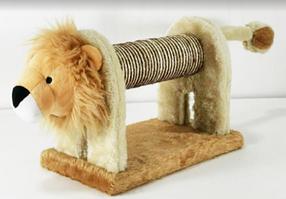 Когтеточка - дряпка Львенок для кошек и  котят 55*16 см