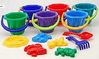 Игровой набор для песочницы Ромашка№2 (8 предметов)