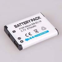 Аккумулятор EN-EL19 (аналог) для фотоаппаратов NIKON COOLPIX: S2500, S4100, S4150, S4200, S4300, S3100, S3200