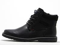 Ботинки Dino Albat черные зимние для мужчин, фото 1