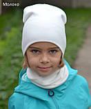 Комплект осенний шапка и хомут, фото 3