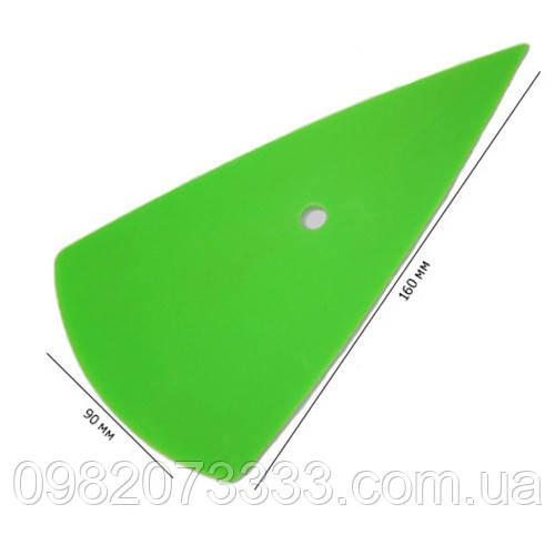 Контор зелёный (размер: 160х90мм) имеет высокую эластичность