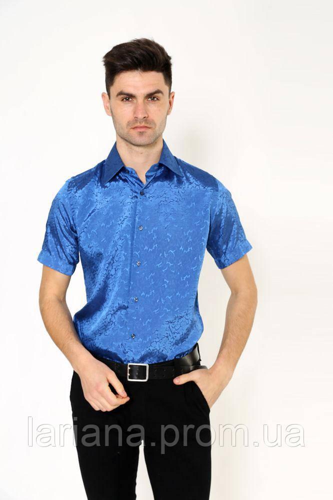 Рубашка Pas 888-2 цвет Синий