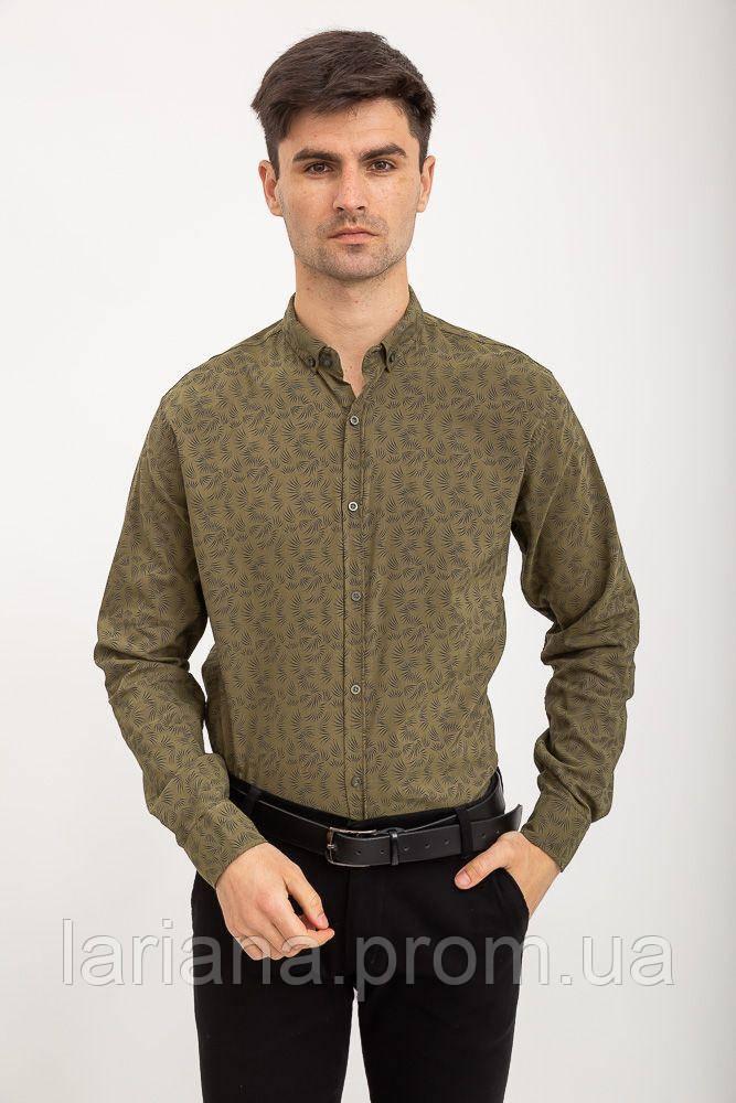 Рубашка 511F015 цвет Хаки