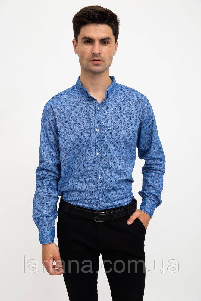 Рубашка 511F015 цвет Голубой