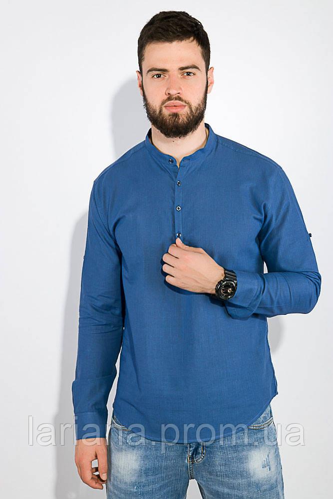 Рубашка 511F014 цвет Синий