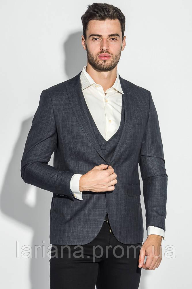 Пиджак 497F001-1 цвет Серый