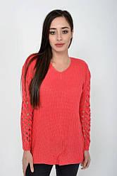Свитер женский 122R025 цвет Розовый