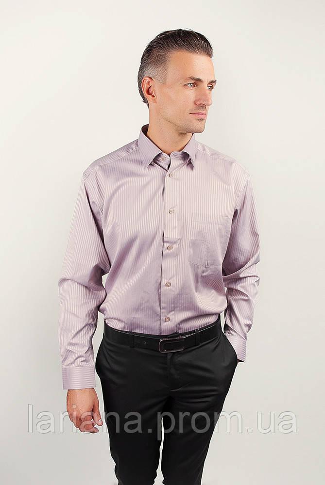 Рубашка Fra №878-26 цвет Светло-сиреневый