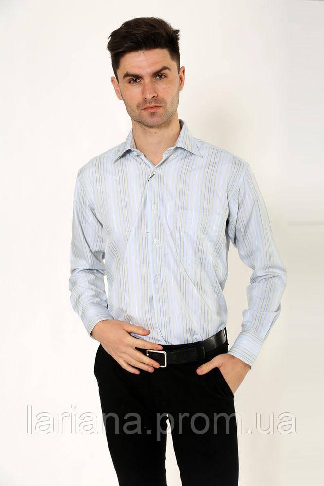 Рубашка 9021-9 цвет Серо-желтый