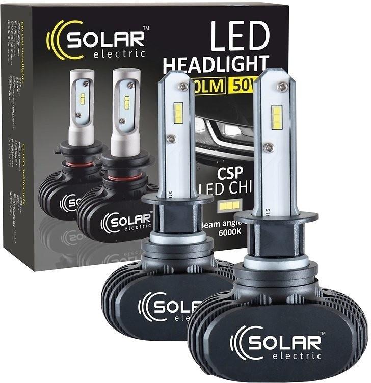 LED лампа SOLAR H1 6000K 4000Lm CSP 12/24V 8101 (2 шт.)
