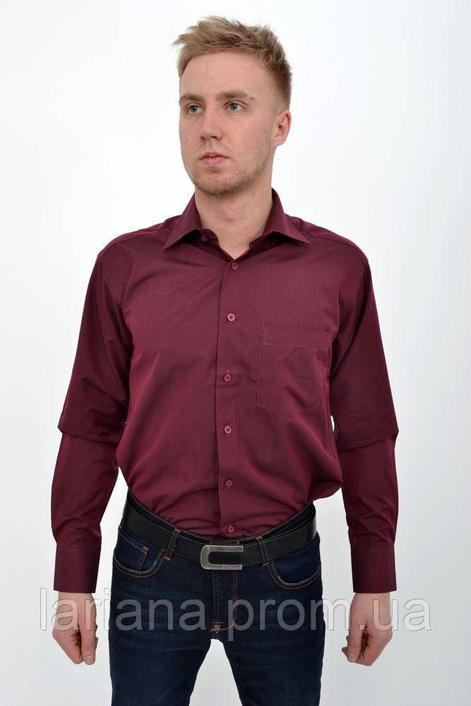 Рубашка мужская 9004-8 цвет Баклажанный